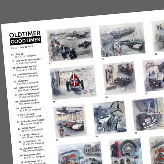 Oldtimer Goodtimer Serie Easy Art Edition